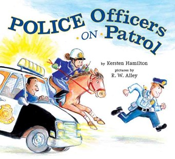 Police Officers on Patrol - Children's Fiction Intermediate (5-7)