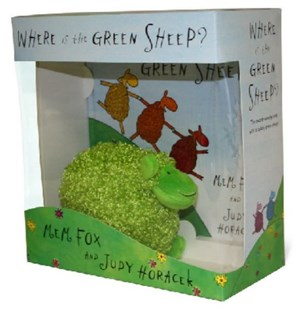 Where Is The Green Sheep? Hardback Book And Plush Toy BoxedSet by Mem Fox, Judy Horacek (9780670073641) - HardCover - Children's Fiction Early Readers (0-4)