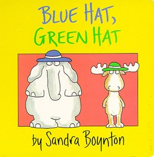 Blue Hat, Green Hat by Sandra Boynton (9780671493202) - HardCover - Children's Fiction Early Readers (0-4)