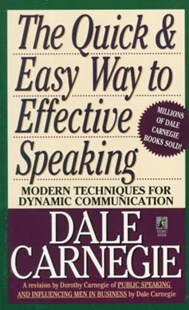 Quick and Easy Way to Effective Speaking by Dale Carnegie (9780671724009) - PaperBack - Reference