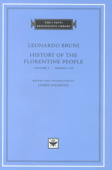 History of the Florentine People: Books 1-4