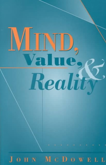 Mind, Value and Reality
