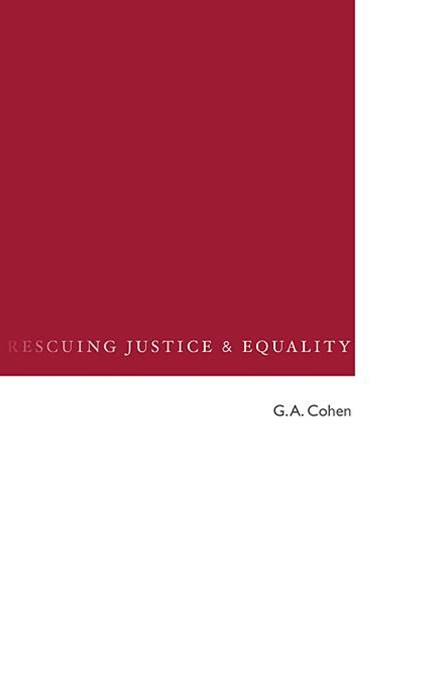 Rescuing Justice and Equality