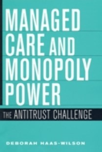 (ebook) Managed Care and Monopoly Power - Business & Finance Ecommerce