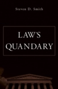 (ebook) Law's Quandary - Reference Law