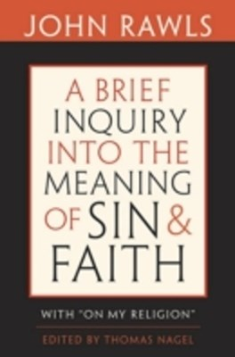 (ebook) Brief Inquiry into the Meaning of Sin and Faith
