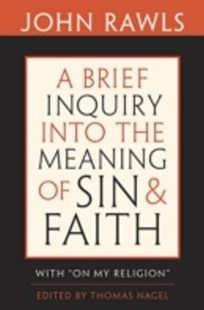 (ebook) Brief Inquiry into the Meaning of Sin and Faith - Philosophy Modern