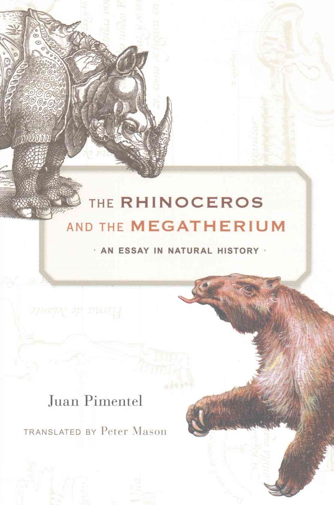 Rhinoceros and the Megatherium