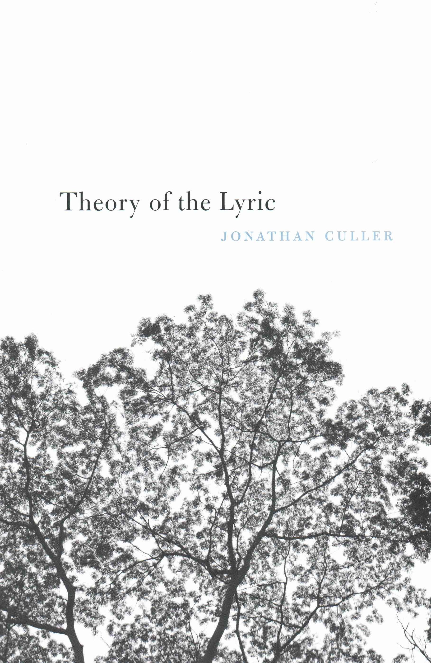 Theory of the Lyric