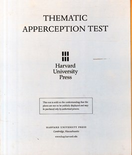 Thematic Apperception Test: Student Manual with cards by Henry A. Murray (9780674877207) - HardCover - Reference Medicine