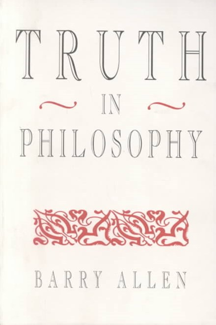 Truth in Philosophy
