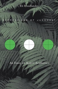 (ebook) Expressions of Judgment - Philosophy Modern
