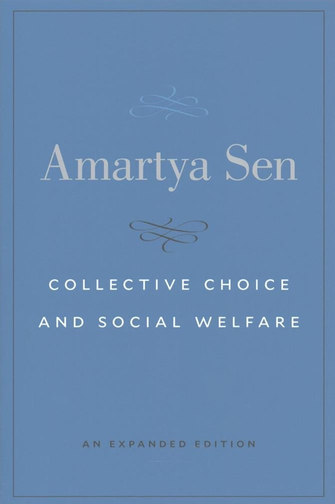 Collective Choice and Social Welfare - An Expanded Edition