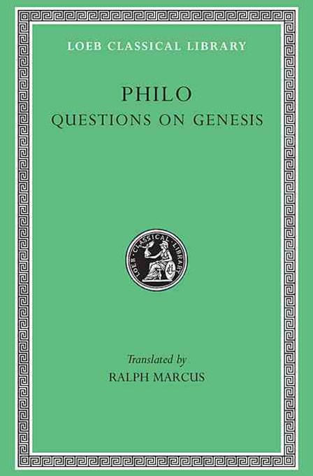 Philo - Questions on Genesis