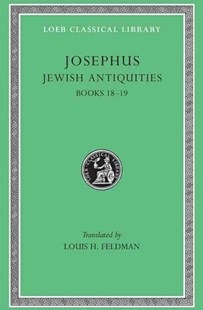 Jewish Antiquities by Louis H. Feldman, Josephus (9780674994775) - HardCover - History Roman