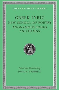 Greek Lyric by David A. Campbell (9780674995598) - HardCover - Poetry & Drama Poetry