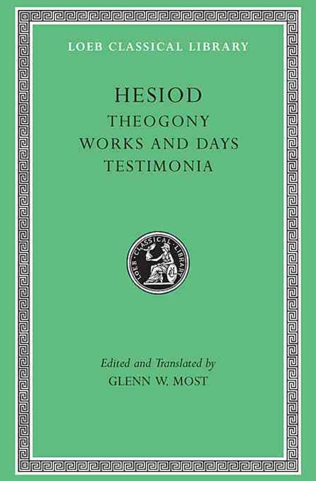 Hesiod: Theogony, Works and Days, Testimonia