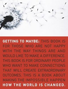 Getting to Maybe by Frances Westley, Brenda Zimmerman, Michael Patton (9780679314448) - PaperBack - Politics Political Issues