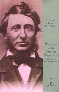 Mod Lib Walden & Other Writings by Henry David Thoreau, Henry David Thoreau, Brooks Atkinson (9780679600046) - HardCover - Classic Fiction