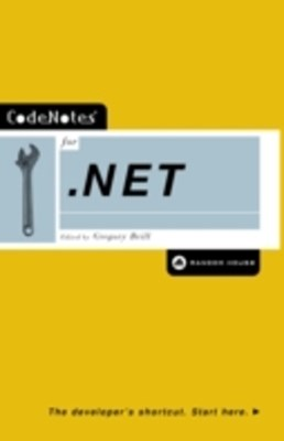 (ebook) CodeNotes for .NET