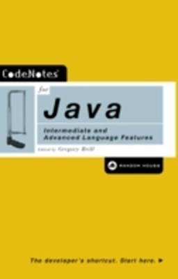 (ebook) CodeNotes for Java