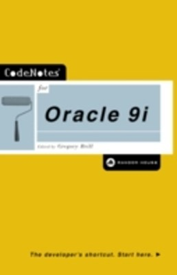 (ebook) CodeNotes for Oracle 9i