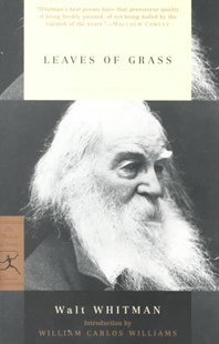 Mod Lib Leaves Of Grass by Walt Whitman, Walt Whitman, William Carlos Williams (9780679783428) - PaperBack - Poetry & Drama Poetry