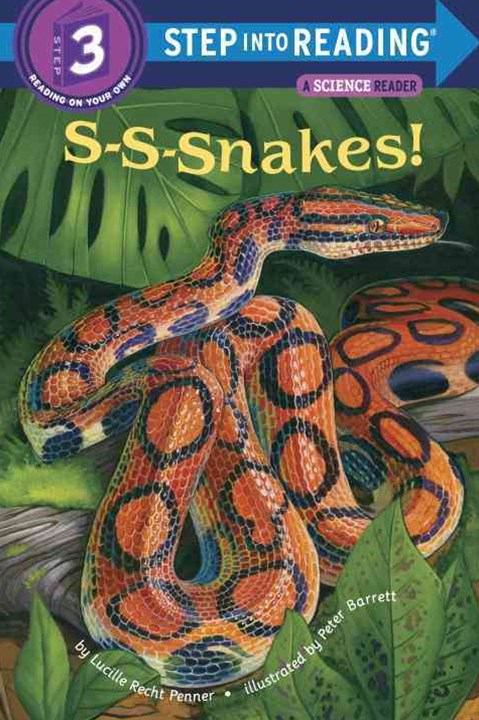 S-S-Nakes! Step Into Reading 3