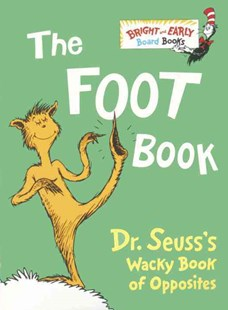 The Foot Book by Dr. Seuss (9780679882800) - HardCover - Children's Fiction Intermediate (5-7)