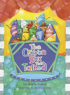 The Crayon Box That Talked by Shane Derolf, Michael Letzig (9780679886112) - HardCover - Children's Fiction Intermediate (5-7)