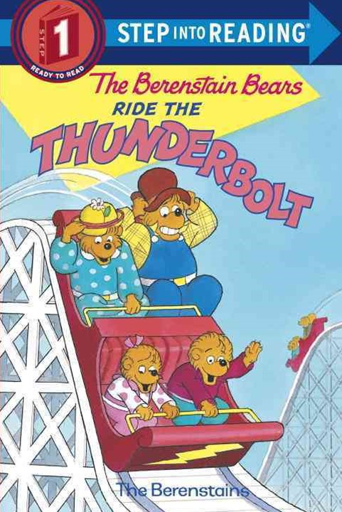 Berenstain Bears Ride The Thunderbolt Step Into Reading 1