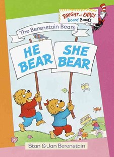 He Bear, She Bear by Stan Berenstain, Jan Berenstain (9780679894261) - HardCover - Children's Fiction Early Readers (0-4)