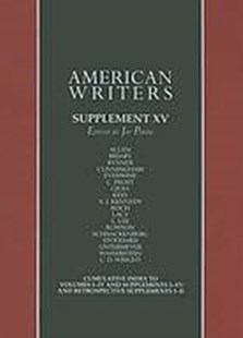 American Writers by Gale Cengage Learning (9780684325507) - HardCover - Reference