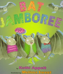 Bat Jamboree by Kathi Appelt, Melissa Sweet (9780688161675) - PaperBack - Non-Fiction Early Learning