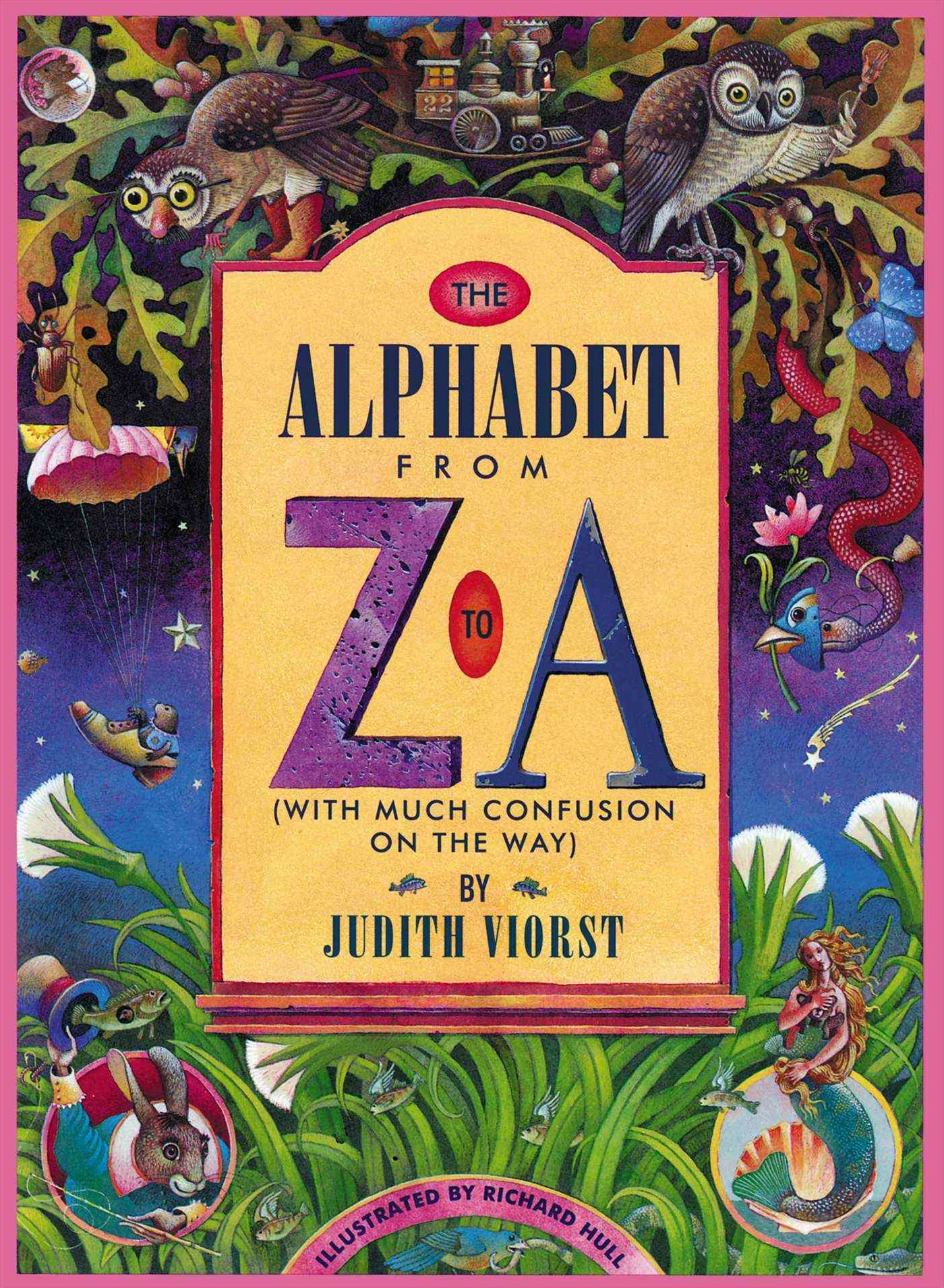 The Alphabet from Z to A