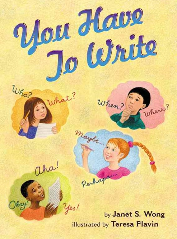 You Have to Write