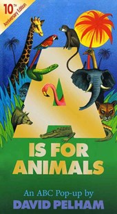 \A Is for Animals by David Pelham, David Pelham (9780689847066) - HardCover - Non-Fiction Animals
