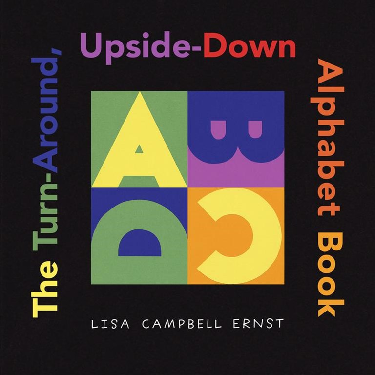 The Turn Around, Upside Down Alphabet Book