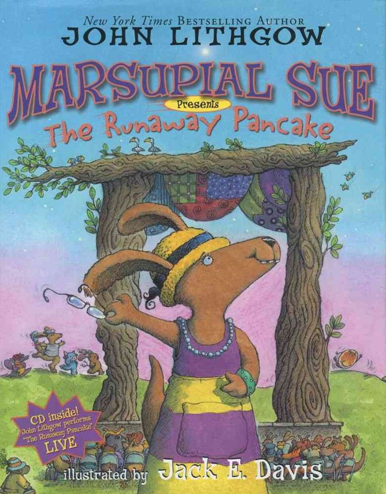 """Marsupial Sue Presents """"The Runaway Pancake"""": Book and CD  """