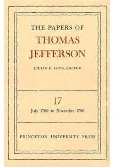 Papers of Thomas Jefferson July 1790 to November 1790