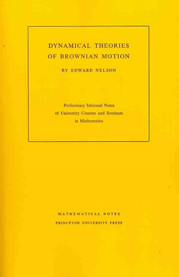 Dynamical Theory of Brownian Motion