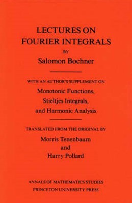 Lectures on Fourier Integrals