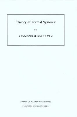 Theory of Formal Systems