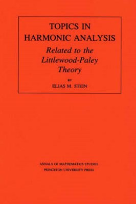 Topics in Harmonic Analysis Related to the Littlewood-Paley Theory