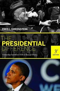 Presidential Difference by Fred I. Greenstein (9780691143835) - PaperBack - Biographies Political