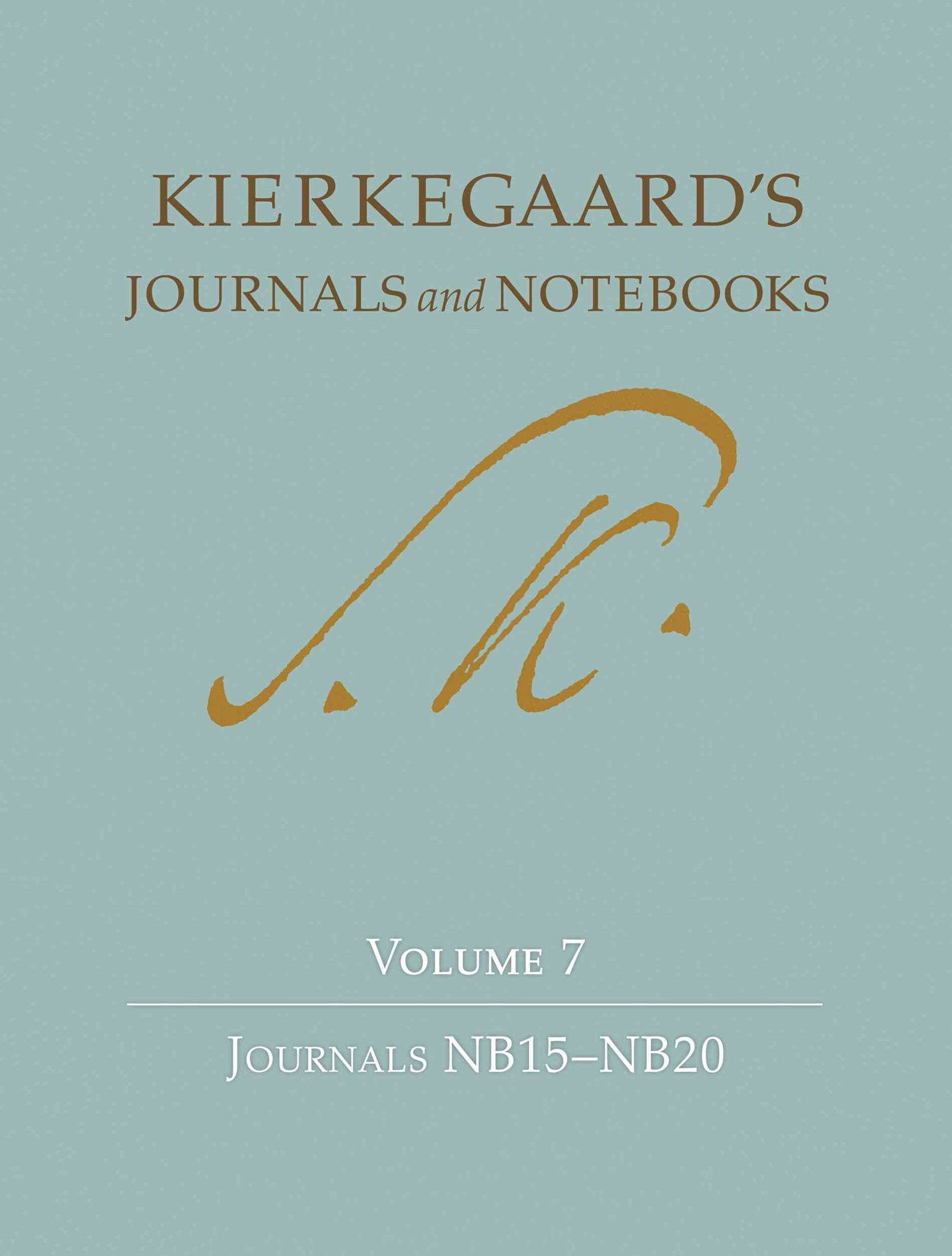 Kierkegaard's Journals and Notebooks: Journals NB15-NB20