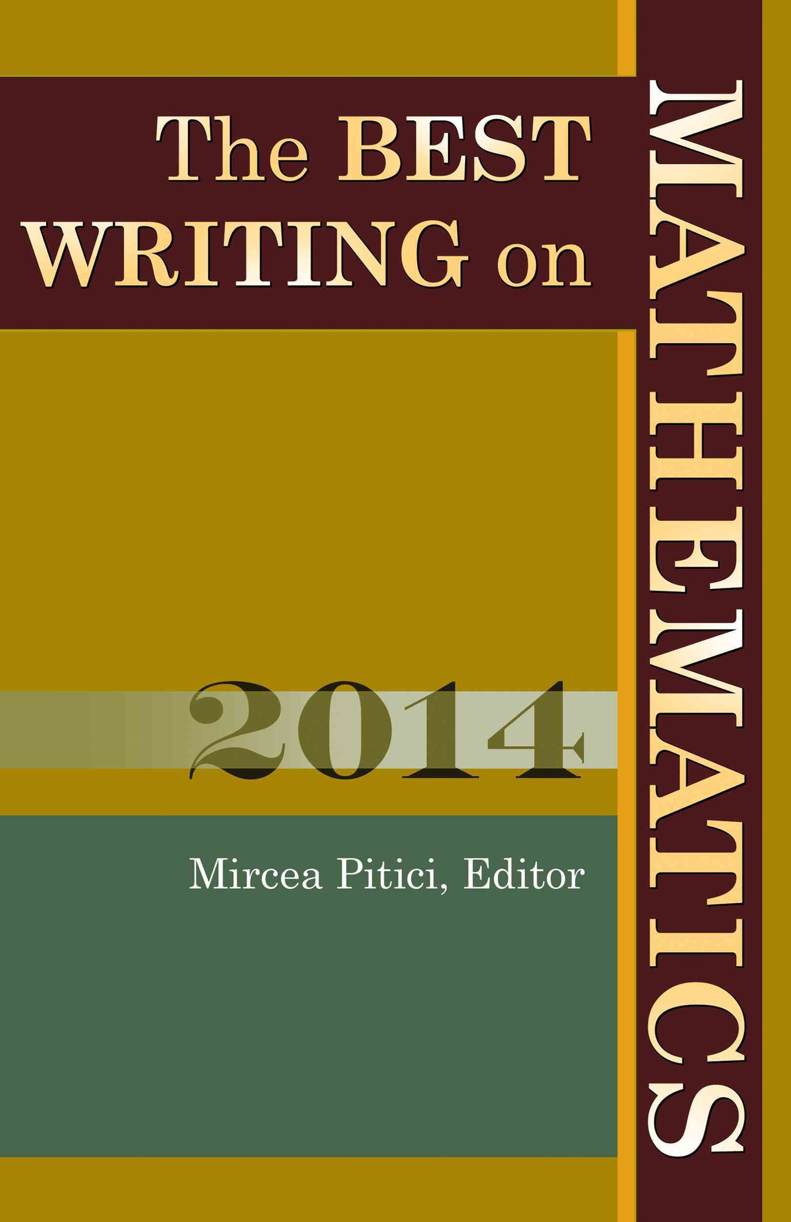 Best Writing on Mathematics 2014