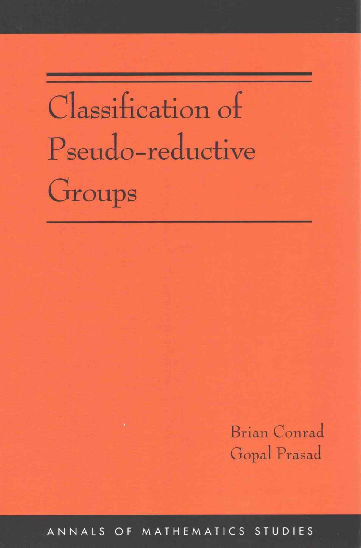Classification of Pseudo-Reductive Groups