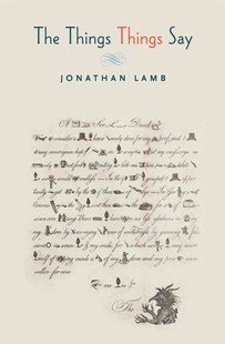 Things Say by Jonathan Lamb (9780691171258) - PaperBack - Reference