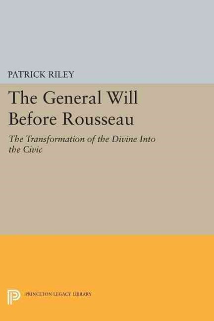 General Will Before Rousseau